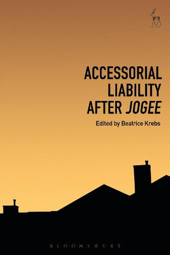 Accessorial Liability after Jogee (Hardback)