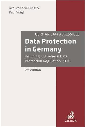Data Protection in Germany (Hardback)