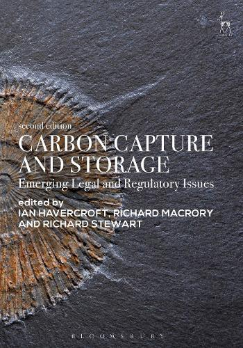 Carbon Capture and Storage: Emerging Legal and Regulatory Issues (Paperback)