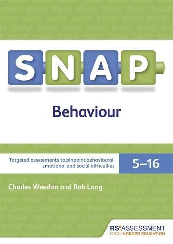 SNAP Behaviour User's Handbook (Special Needs Assessment Profile-Behaviour) V3 (Paperback)