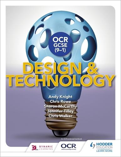 OCR GCSE (9-1) Design and Technology - OCR GCSE (9-1) Design and Technology (Paperback)