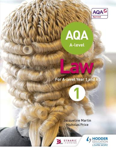 AQA A-level Law for Year 1/AS (Paperback)