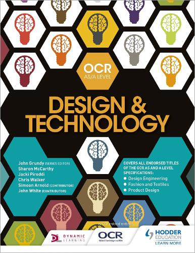 OCR Design and Technology for AS/A Level - OCR AS/A Level Design and Technology 2017 (Paperback)