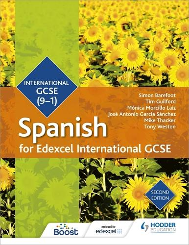 Edexcel International GCSE Spanish Student Book Second Edition (Paperback)