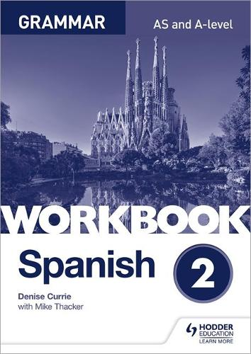 Spanish A-level Grammar Workbook 2 (Paperback)