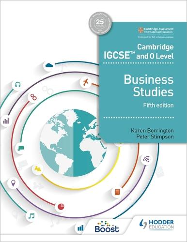 Cambridge IGCSE and O Level Business Studies 5th edition (Paperback)