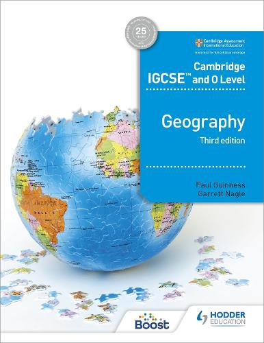 Cambridge IGCSE and O Level Geography 3rd edition (Paperback)