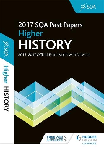 Higher History 2017-18 SQA Past Papers with Answers (Paperback)