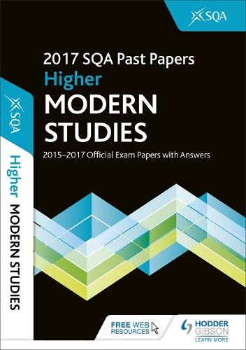 Higher Modern Studies 2017-18 SQA Past Papers with Answers (Paperback)