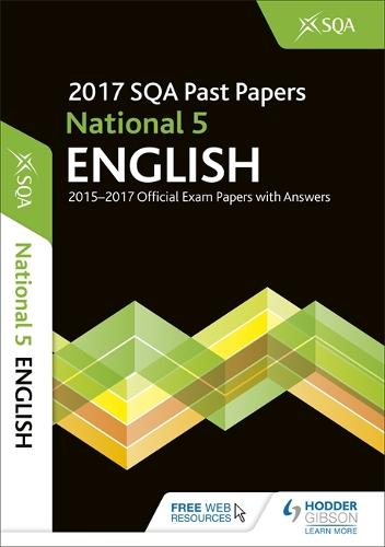 National 5 English 2017-18 SQA Past Papers with Answers (Paperback)
