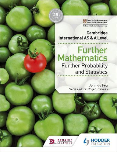 Cambridge International AS & A Level Further Mathematics Further Probability & Statistics (Paperback)
