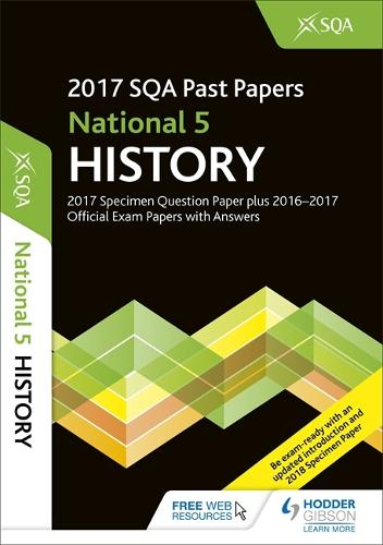 National 5 History 2017-18 SQA Specimen and Past Papers with Answers (Paperback)