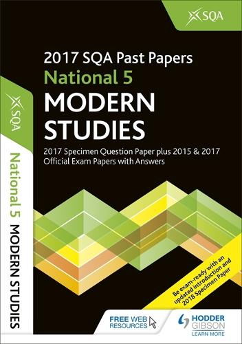 National 5 Modern Studies 2017-18 SQA Specimen and Past Papers with Answers (Paperback)