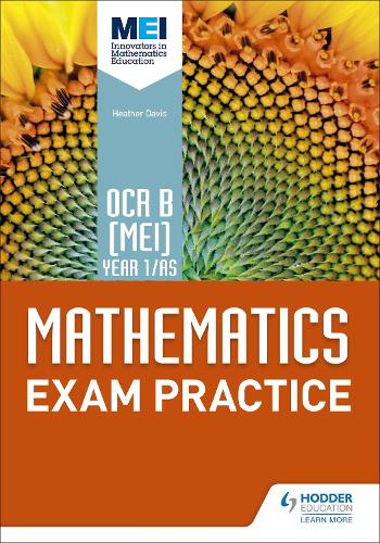 OCR B [MEI] Year 1/AS Mathematics Exam Practice (Paperback)