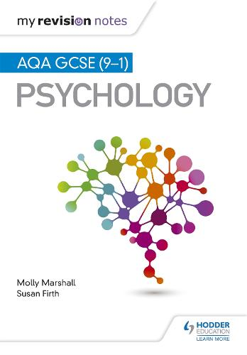 My Revision Notes: AQA GCSE (9-1) Psychology - My Revision Notes (Paperback)
