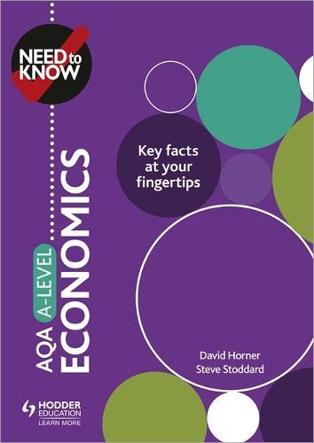 Need to Know: AQA A-level Economics (Paperback)