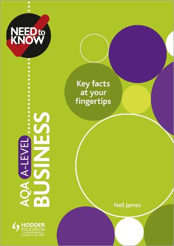 Need to Know: AQA A-level Business (Paperback)