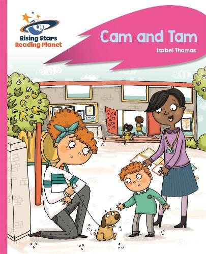 Reading Planet - Cam and Tam - Pink A: Rocket Phonics - Rising Stars Reading Planet (Paperback)