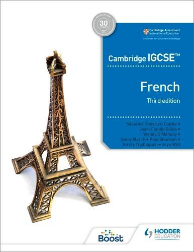 Cambridge IGCSE (TM) French Student Book Third Edition (Paperback)