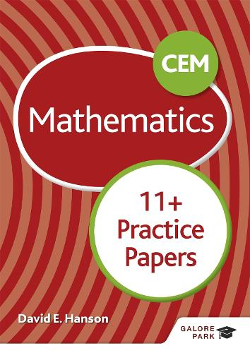 CEM 11+ Mathematics Practice Papers (Paperback)