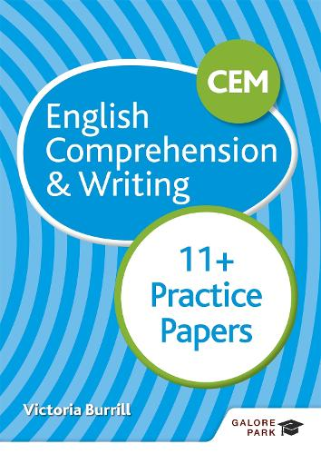 CEM 11+ English Comprehension & Writing Practice Papers (Paperback)