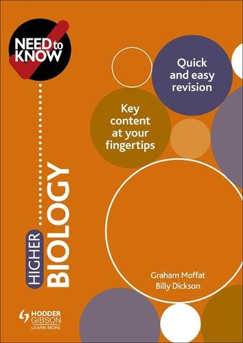 Need to Know: Higher Biology (Paperback)
