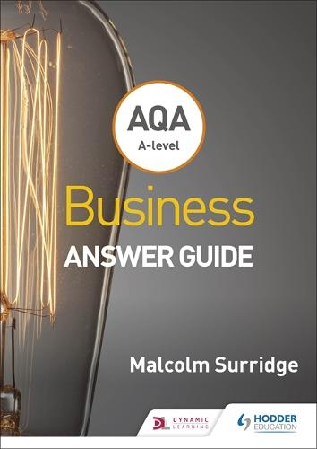 AQA A-level Business Answer Guide (Surridge and Gillespie) (Paperback)