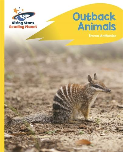 Reading Planet - Outback Animals - Yellow C: Rocket Phonics - Rising Stars Reading Planet (Paperback)