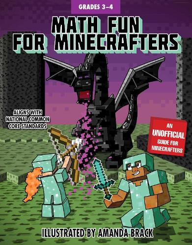 Math Fun for Minecrafters: Grades 3-4 - Math for Minecrafters (Paperback)