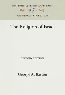 The Religion of Israel - Anniversary Collection (Hardback)