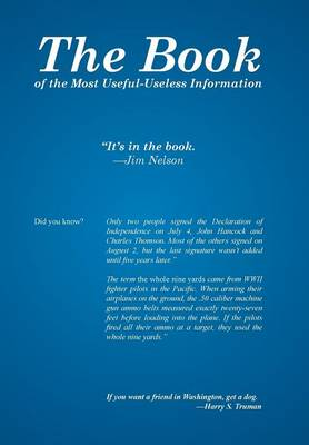The Book: Of the Most Useful-Useless Information (Hardback)