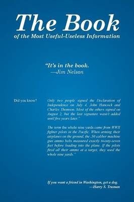 The Book: Of the Most Useful-Useless Information (Paperback)