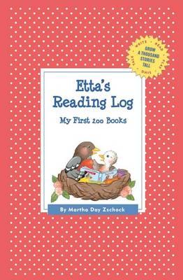 Etta's Reading Log: My First 200 Books (Gatst) - Grow a Thousand Stories Tall (Paperback)