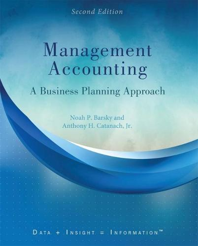 Management Accounting: A Business Planning Approach (Paperback)
