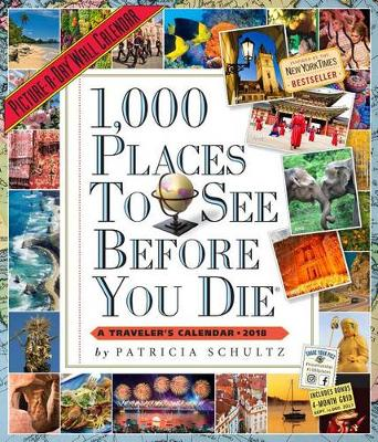 1,000 Places to See Before You Die Picture-A-Day Wall Calendar 2018 (Calendar)