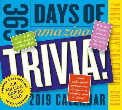 2019 365 Days of Amazing Trivia! Page-A-Day Calendar (Calendar)