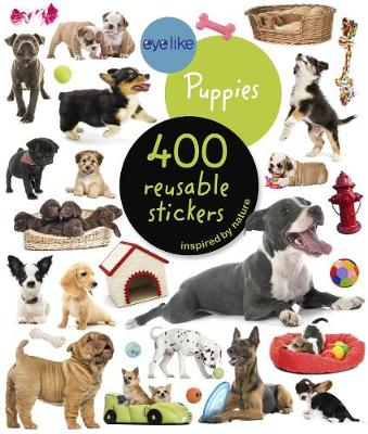 Eyelike Stickers: Puppies (Paperback)