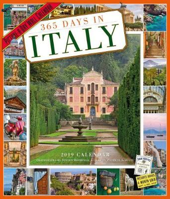 2019 365 Days in Italy Picture-A-Day Wall Calendar (Poster)