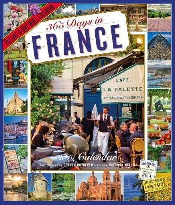 2019 365 Days in France Picture-A-Day Wall Calendar (Calendar)