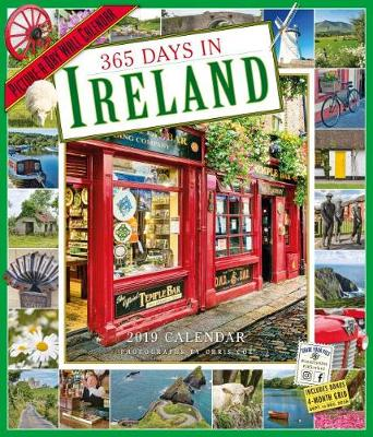 2019 365 Days in Ireland Picture-A-Day Wall Calendar (Calendar)