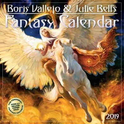2019 Boris Vallejo & Julie Bells Fantasy Wall Calendar (Calendar)