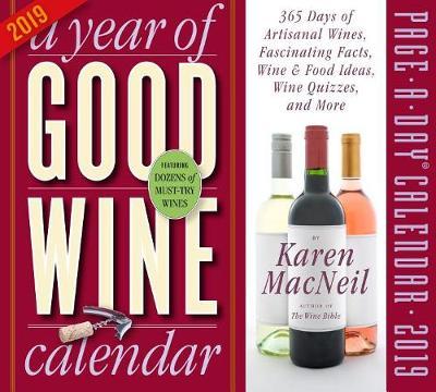 2019 a Year of Good Wine Page-A-Day Calendar (Calendar)