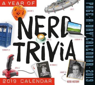 2019 a Year of Nerd Trivia Page-A-Day Calendar (Calendar)