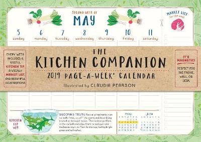 2019 the Kitchen Companion Page-A-Week Wall Calendar (Calendar)