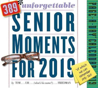 2019 389 Unforgettable Senior Moments Page-A-Day Calendar (Calendar)