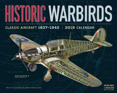2019 Historic Warbirds Wall Calendar (Calendar)
