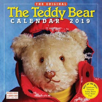 2019 the Teddy Bear Calendar Wall Calendar (Calendar)