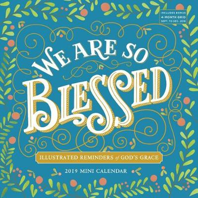 2019 We are So Blessed Mini Wall Calendar (Calendar)