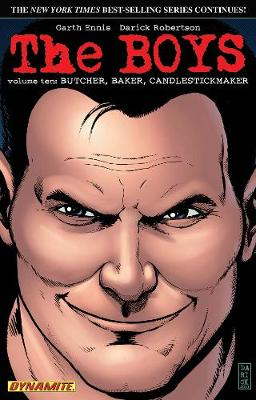 The Boys Volume 10: Butcher, Baker, Candlestickmaker - Garth Ennis Signed (Paperback)