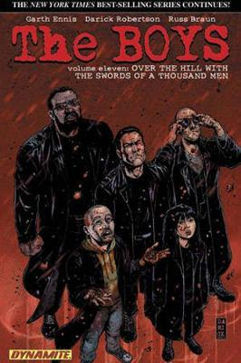 The Boys Volume 11: Over the Hill with the Swords of a Thousand Men - Garth Ennis Signed (Paperback)
